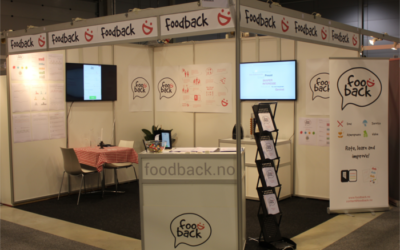 Our stand at Smak, come visit!