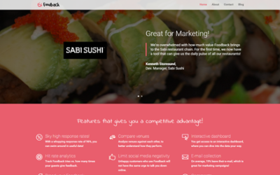 Welcome to the brand new foodback.com!