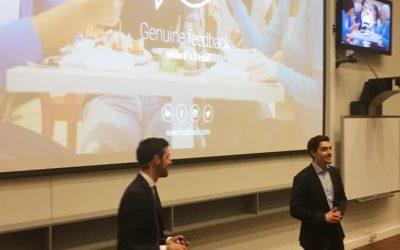 Foodback keynote speaker at Validé's annual incubator graduation